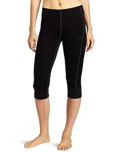 Helly Hansen W Hh Warm 3/4 Pant Sous-vêtement technique bas femme Noir XS