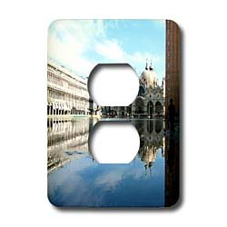 Vacation Spots - Piazza San Marco Venezia Italy - Light Switch Covers - 2 plug outlet cover
