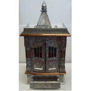 "Small Hindu Temples for Daily Rituals 24"" Shrine Altar Mandir Puja Aarti Prayer"