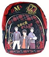 Jonas Brothers Backpack- Full size Jonas Brothers Book Bag - Rock Stars