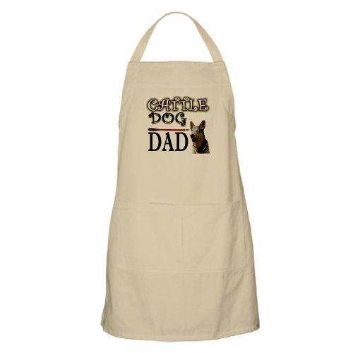 Cafepress Image Cattle Dog Dad BBQ Apron - Standard