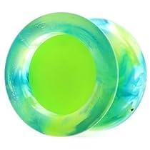 Replay Pro Neon Green Aurora Marble Yo Yo