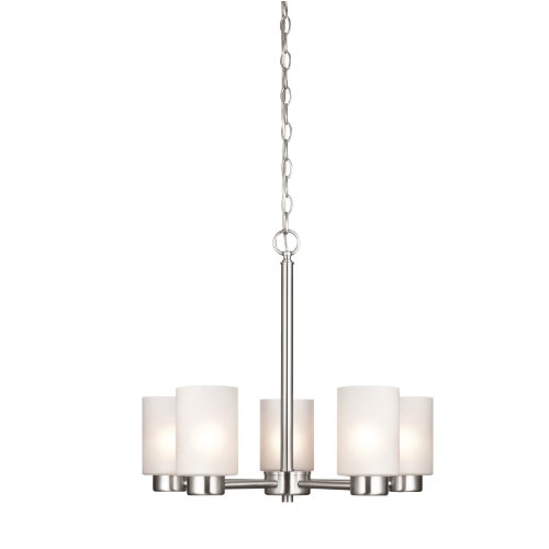 westinghouse-6227400-sylvestre-five-light-interior-chandelier-brushed-nickel-finish-with-frosted-see