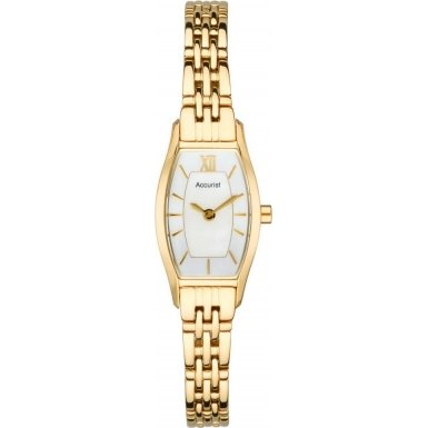 Accurist Ladies Quartz Watch With Silver Dial Analogue Display And Stainless Steel Plated Bracelet LB1280PX