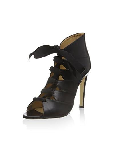 CHARLINE DE LUCA Zapatos abotinados Negro