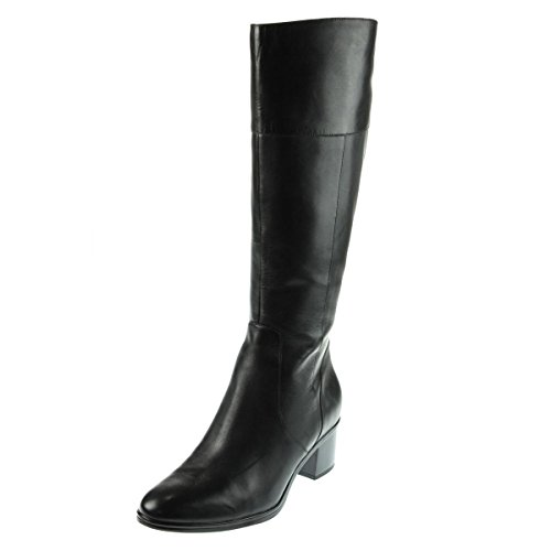 Naturalizer Women's Harbor Riding Boot, Black, 4.5 M US (Naturalizer Extra Wide Shoes compare prices)