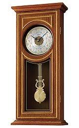 Seiko Clocks Hi-fi Melodies Silver Dial Pendelum Wall clock #QXM269BLH