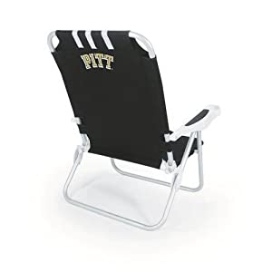 Buy NCAA Pittsburgh Panthers Monaco Folding Beach Chair by Picnic Time