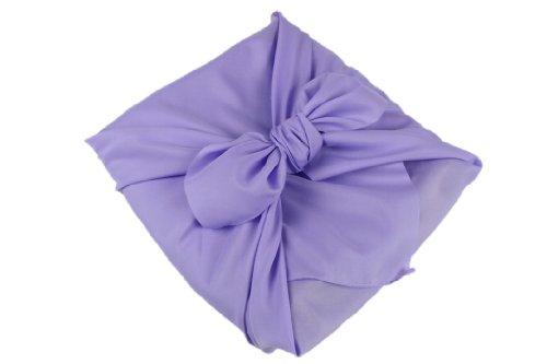 無地 風呂敷 Hu10 約88.5cm×約90.0cm 二四巾 薄紫色 日本製