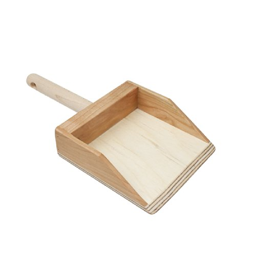 Camden Rose Wood Dust Pan front-142375