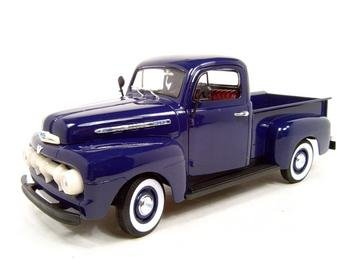 Buy 1951 FORD F1 PICK UP BLUE 1:18 DIECAST MODEL
