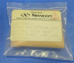 Newport Research Corp (Nrc) 13E20Bd.1 Broadband Dielectric Eliptical Mirror, 33.02 Mm Minor, 46.7 Mm Major, 488-694Nm