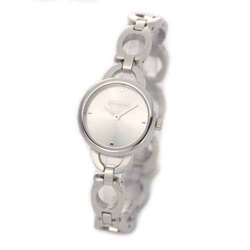 COACH STAINLESS STEEL BRACELET WATCH 14501479