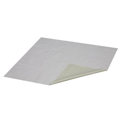 Duro-Med Flannel/Rubber Waterproof Sheeting, White, 36 X 72 front-538382