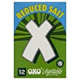 Oxo Reduced Salt Vegetable Cubes 12 x 71G
