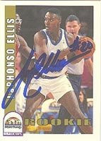 LaPhonso Ellis Denver Nuggets 1993 Hoops Autographed Hand Signed Trading Card -... by Hall+of+Fame+Memorabilia