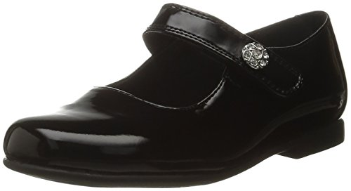 Rachel Shoes Girls' Lil Jackie Mary Jane, Black Patent, 8 M US Toddler (Shoes For A Lil Girl compare prices)
