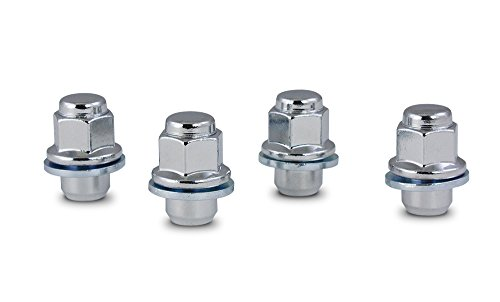 Gorilla Automotive 73137TB Chrome Toyota Mag Style Lug Nut - Bag of 4 (12mm x 1.50 Thread Size) (Toyota Echo Lug Nuts compare prices)