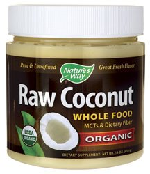 Nature'S Way Raw Coconut Organic -- 16 Oz