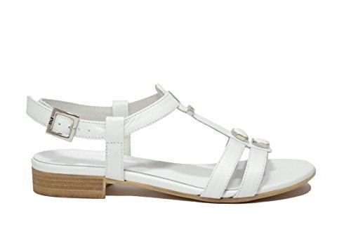 Nero Giardini Sandali scarpe donna bianco 5710 P615710D 39