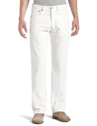 Levi's Men's 501 Original Fit Jean, Chewey White, 28x30