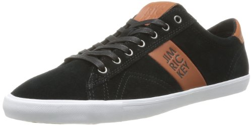 Jim Rickey Mens Deuce Lo Suede Trainers