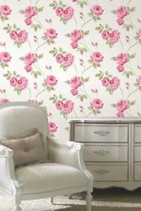 Fine Decor Romance Wallpaper - Pink by New A-Brend