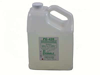 Bubble Master Bubble Fluid 1 gallon from Global Special Effects