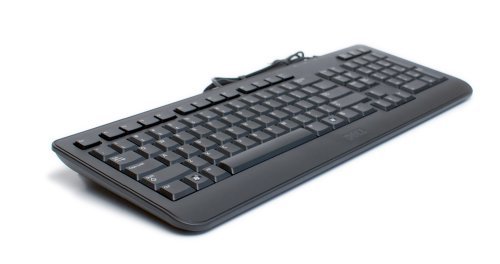 Genuine Dell Sk-8185 Black 104 Key Slim Sleek Usb Keyboard, For Use With Windows Xp, Vista & Windows 7 & Any Computer System That Supports Usb Connectors, Compatible Dell Part Numbers: Y526K, X97G3, Compatible Model Number: Ku-1018
