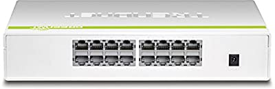 TRENDnet 16-Port Gigabit GREENnet Switch, Desktop Switch