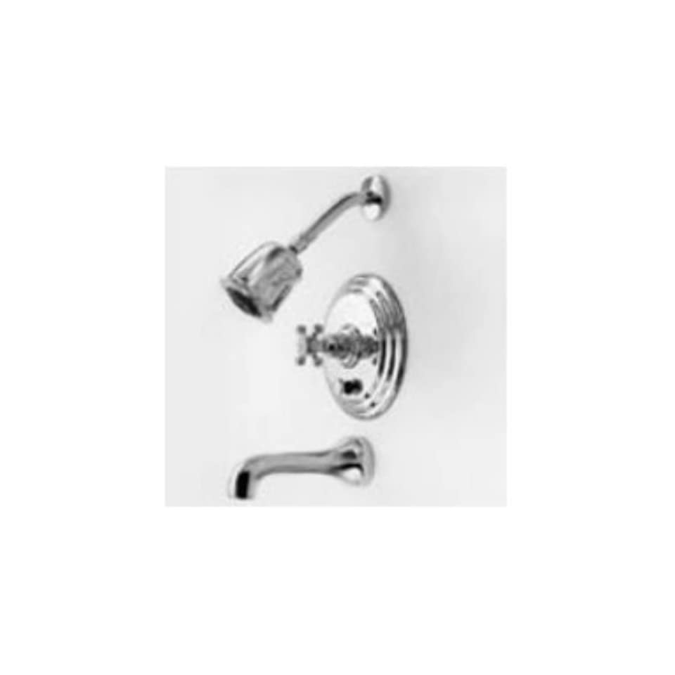 Newport Brass 3 922BP Astor Single Handle Tub and Shower Faucet Trim with Metal, Black