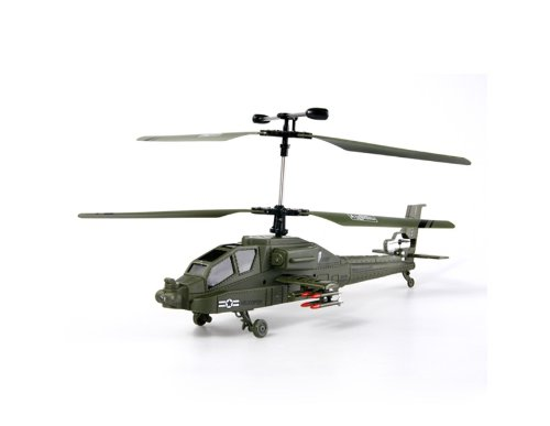 FY888 3D 3 Channel Infrared Remote Control Helicopter (Military Green)