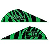 Bohning Blazer Vane (Pack Of 36), Green Tiger