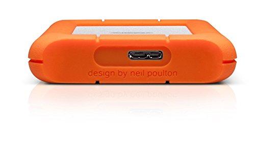 2TB LaCie Rugged Mini USB3.0 Shock-resistant Portable Hard D