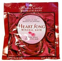 Aromatherapy Mineral Bath - Heart Song, Packet, 6 Units / 2.5 oz
