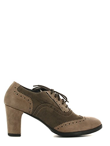 Grace shoes 1800 Francesina Donna Taupe 38