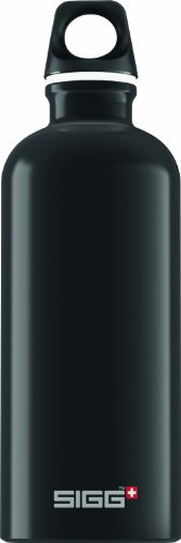 Sigg Traveller Water Bottle(Black, 0.6-Litre)