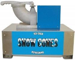 "Benchmark 71050 Snow Blitz Portable Snowcone Machine, 120V, 635W, 5.3A, 500 Lbs/Hr, 22-51/64 "" Width X 18-1/2"" Height X 18"" Depth"