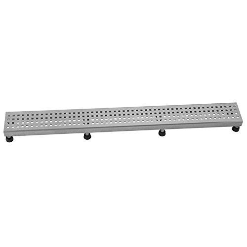 [해외]Jaclo 6222-36-PSS 광장 창 살, 36, 광택 스테인레스 스틸/Jaclo 6222-36-PSS Square Grate, 36 , Polished Stainless Steel