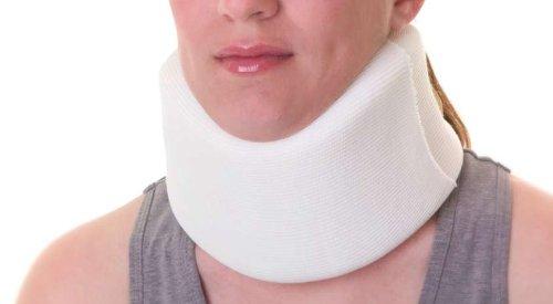 "Collar,Cervical,Soft,3.75X19"",Lg,Ea front-609878"