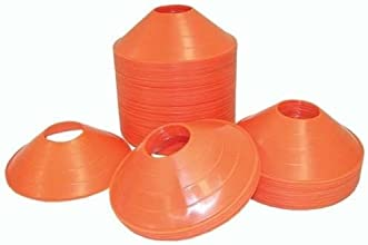 SS Sports Half Cone Markers Set of 12 2-Inch Orange