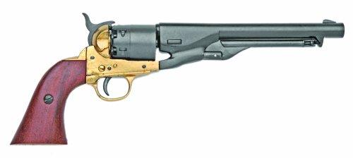 Denix M1861 Navy Issue Brass Revolver - Non-Firing Replica (Gun Replica Non Firing compare prices)