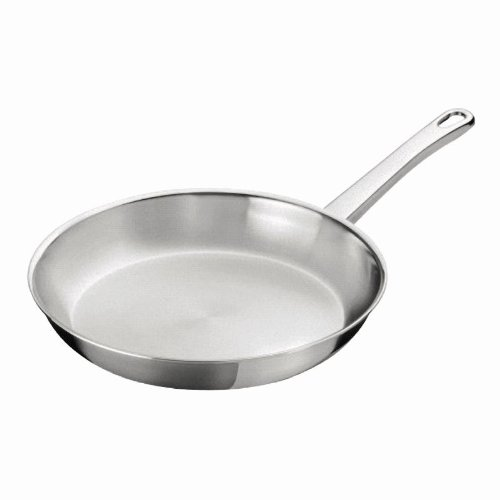 Kuhn Rikon Duroply Star Stainless Steel Induction Frying Pan, 28 cm