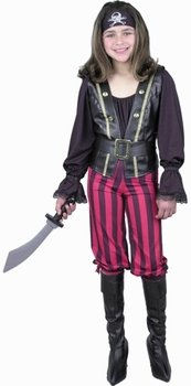 Kid's Pirate Queen Costume (Size:X-Large 12-14)