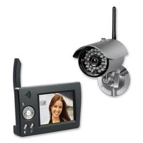 digitale funk video berwachung indexa df 240 set inkl tragbarem 3 5 zoll tft monitor. Black Bedroom Furniture Sets. Home Design Ideas