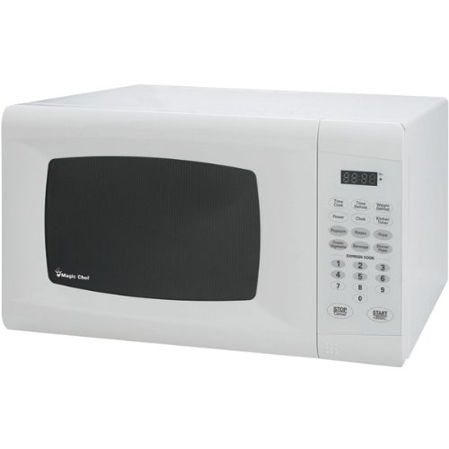 Magic Chef Mcm990W .9 Cubic-Ft, 900-Watt Microwave With Digital Touch (White)