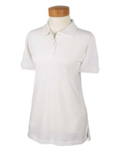 Devon & Jones Women's Short Sleeve Organic Pique Polo Shirt D130WGR