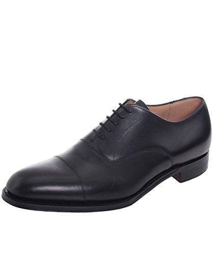 Cheaney and Sons Scarpe Oxford in pelle cuoio calce 44.5 Nero