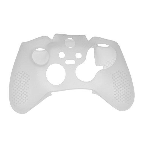 Coque de Protection Silicone Housse Etui Pour Manette Xbox Jeu de Contrôleur - Blanc, 15,5 * 8 * 2cm