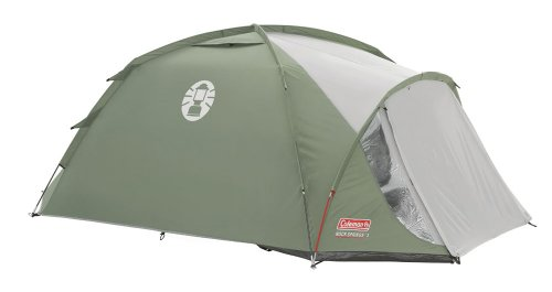 Coleman Rock Springs Three Man Tent - Green/Grey